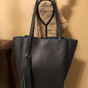 VINCE CAMUTO Nylan Small Tote in Nero $248 NWT!